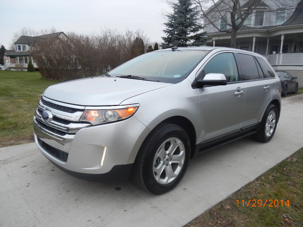 Call Or Text Lidia   Ford Edge   Ecoboost Backup Camera And Sensors Rear Auto Seat Heated Seats Leather Seats