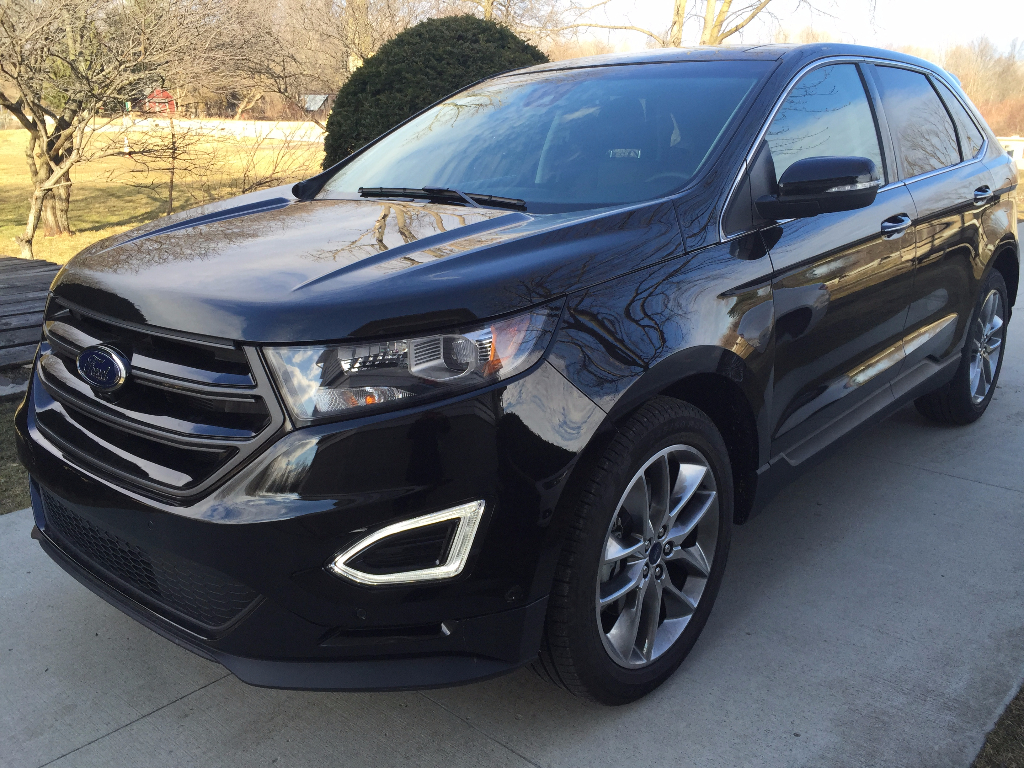 2015 FORD EDGE TITANIUM AWD call Lidia 313-727-8980 : ford edge used cars for sale - markmcfarlin.com